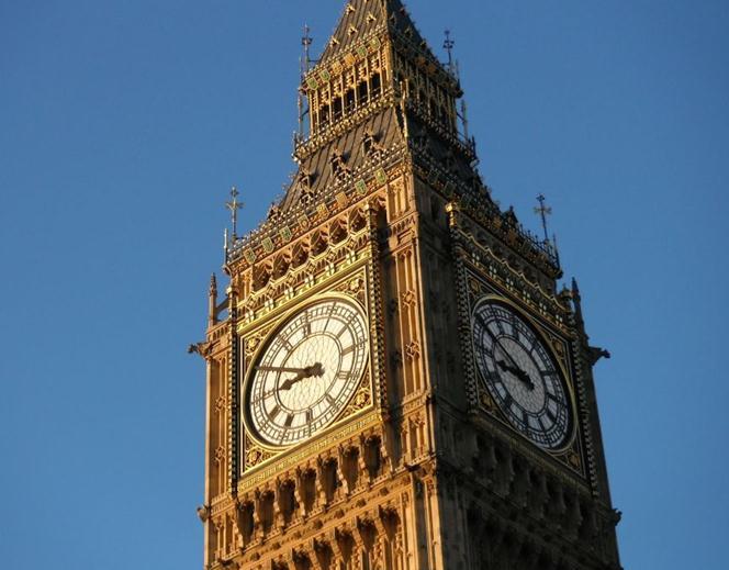 伦敦名胜古迹手绘