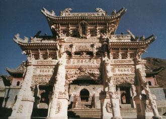 【竹林寺旅游景点】五台山竹林寺旅游景点大全红绸攻略图片