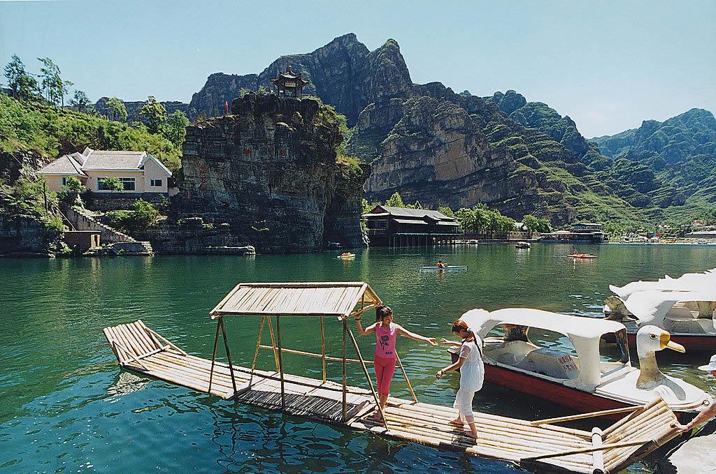 河北.涞水---野三坡风景区 - 海阔山遥 - .