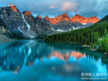 遨游网首页 景区景点 北美洲旅游景点 加拿大旅游景点 班芙国家公园旅