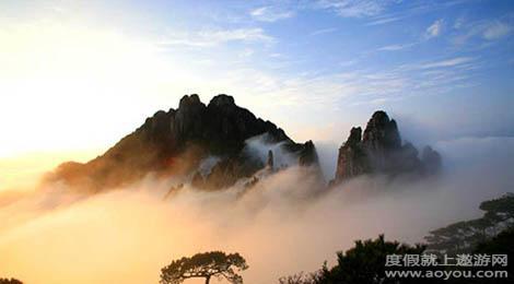 陕西渭南少华山景区旅游景点
