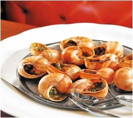 来法国,尝精致料理焗蜗牛
