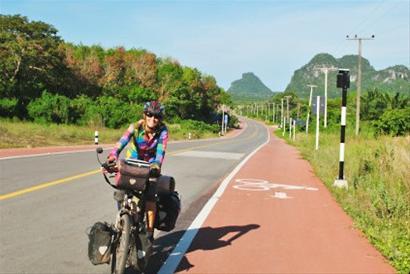 <b>成都男孩儿骑行105天,新加坡归来</b>