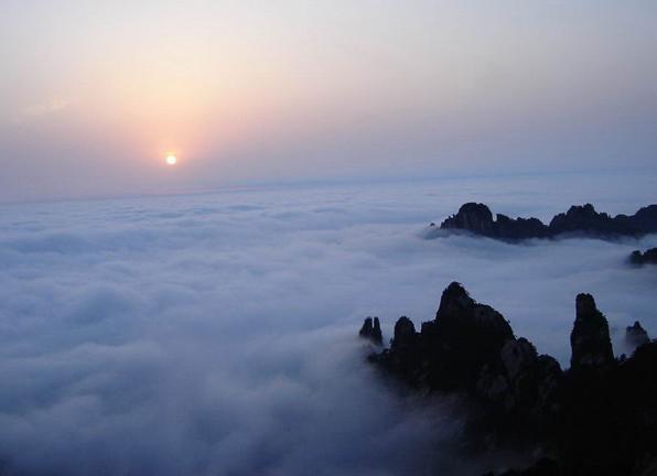 太平天国古营寨遗址——寨顶成为九华山旅游新景点