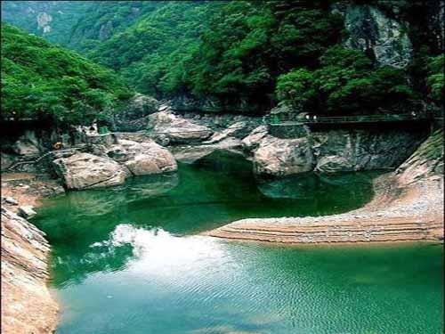 松溪洞天问山水,浙东大峡谷漂流