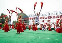 2012中国吉林查干湖蒙古族民俗旅游节启幕