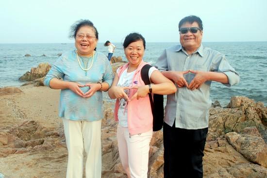 一群盲人的旅行——《听海》