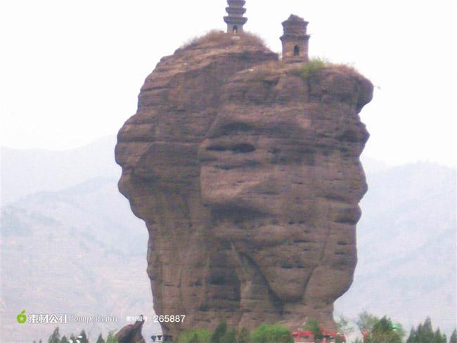 双塔山旅游景点