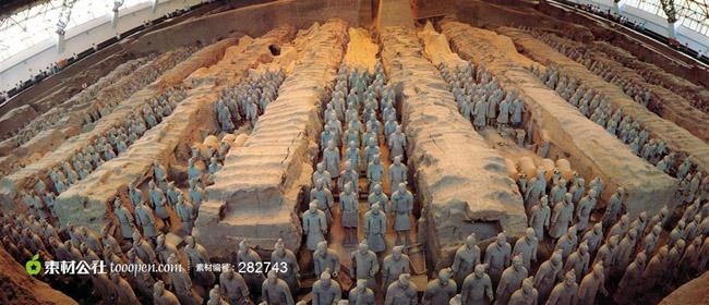 景区景点 亚洲旅游 中国旅游 陕西旅游 西安旅游 秦始皇兵马俑旅游