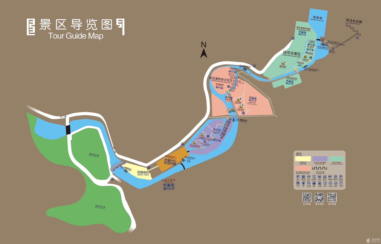 古北水镇地图_古北水镇旅游地图高清版 - 中青旅遨游网