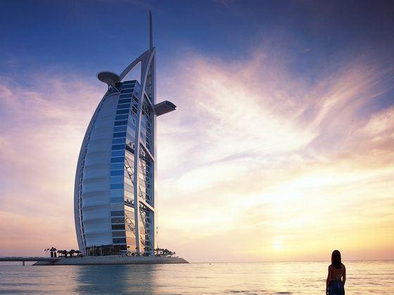 迪拜1000米高楼