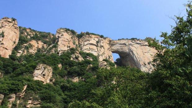 北京密云天门山风景区